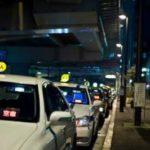 タクシーと地縛霊